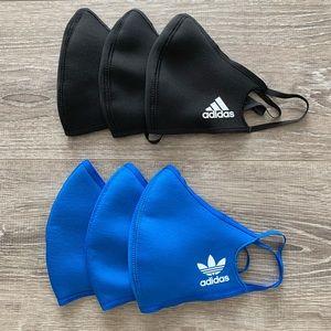 6 Adidas Face Mask - Never Used